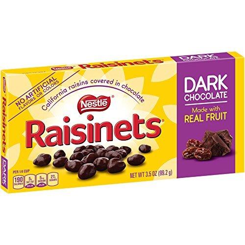 Nestle Dark Raisinets Box, 3.50-Ounce (pack of 3 )