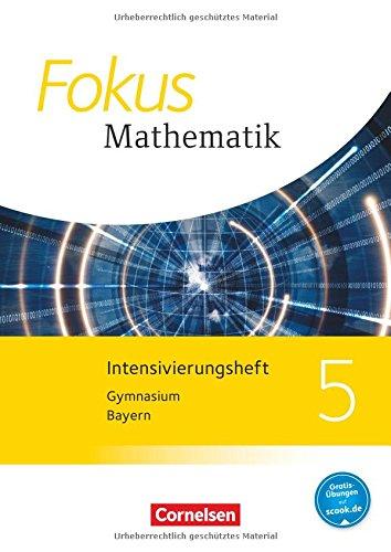 Fokus Mathematik - Bayern - Ausgabe 2017: 5. Jahrgangsstufe - Intensivierungsheft mit Lösungen