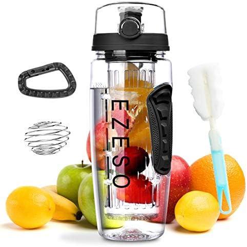 Fruit Infuser Bottle BPA Free Removable