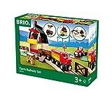 BRIO 33719 Farm Railway Set | Toy Train Set for Kids Age 3 and Up