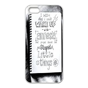 Retro Design The Music Band 5SOS For Apple Iphone 5 5S Cases AKG228466