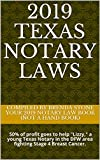 2019 Texas Notary Laws:  50% of profit goes to help
