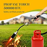 Propane Torch Weed Burner Torch,With Turbo Trigger