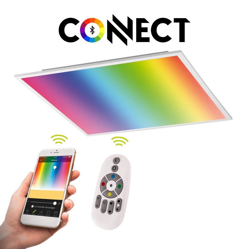 Connect LED-Panel 62x62cm 34W 4300lm RGB+CCT LED Deckenlampe Deckenleuchte