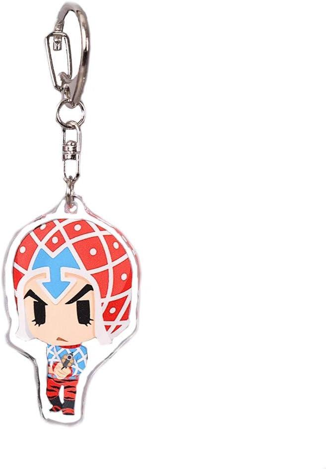 Azur Lane RedCherry Porte-cl/és en m/étal avec figurine de personnage anim/é japonais 7 pi/èces.