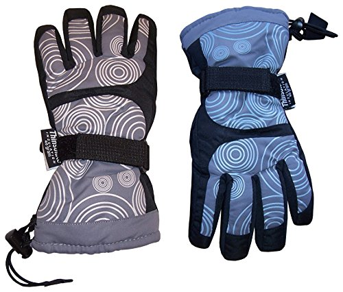N'Ice Caps Kids Magical Color Changing Thinsulate And Waterproof Ski Gloves (6-8yrs, - Sports N Sun Ski