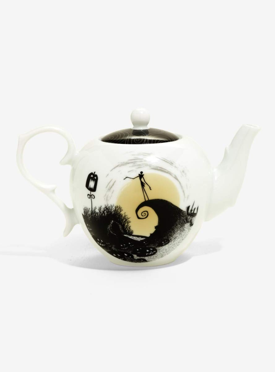 Amazon.com: The Nightmare Before Christmas Spiral Hill Teapot ...