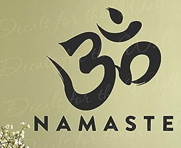 Amazon namaste buddhist tibet hindu namaskar yoga health namaste buddhist tibet hindu namaskar yoga health greeting spiritual inspirational motivational inspiring wall lettering m4hsunfo