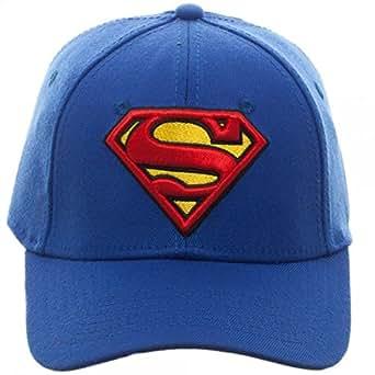 Baseball Cap - Superman - Royal Flex Cap New Hat Licensed Bx3n17spm ... dc78990092d