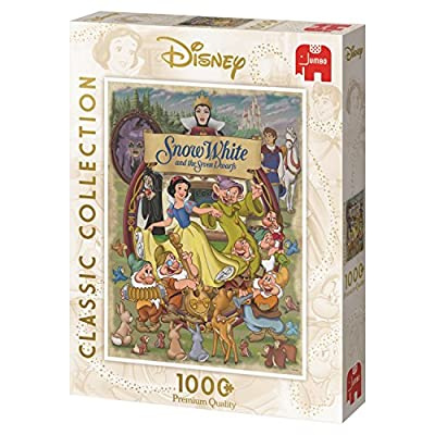 Disney Classic Collection Snow White Jumbo 19490 - 1000 Piece Jigsaw Puzzle: Toys & Games
