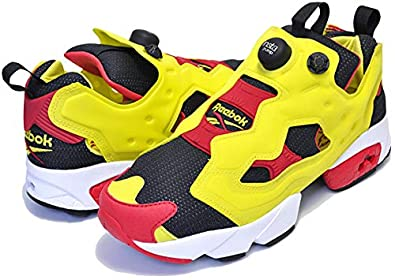 hot sale online a7c92 cf139 Amazon    リーボック  ポンプフューリー シトロン INSTAPUMP FURY OG CITRON 2019 black green red white  25周年 シトロン ポンプ スニーカー  並行輸入品    ...