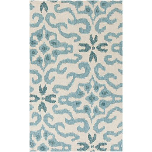 Surya Kate Spain MRS2010-811 Hand Woven Casual Area Rug, 8-Feet by 11-Feet, Multicolor by Surya