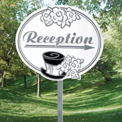 Fun Express - Wedding Reception Yard Sign