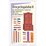 ENCYCLOPEDIE DIDEROT D'ALEMBERT