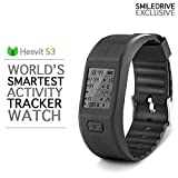 Hesvit Fitness and Activity Tracker Smart Watch : The Smart Fitness Tracking Wristband with Calorie Counter, Sleep Monitor, Heart Rate Monitor, Skin Temperature & much more