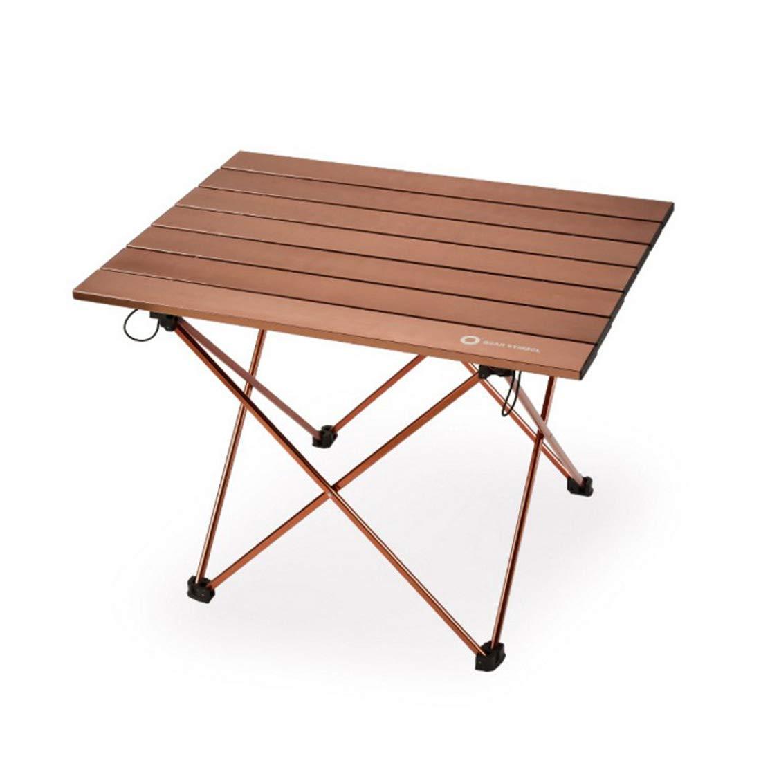 FUBULECY Geeignet für Outdoor-Camping mit praktischer Aluminiumlegierung Picknicktisch.