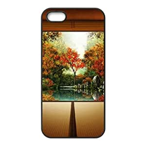 Autumn In Japan iPhone 4 4s Cell Phone Case Black Delicate gift JIS_353861