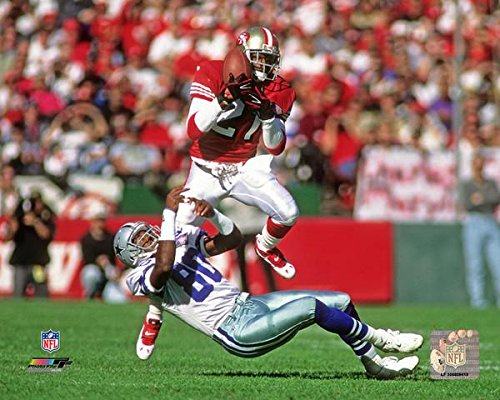 Deion Sanders San Francisco 49ers Action Photo (Size: 8