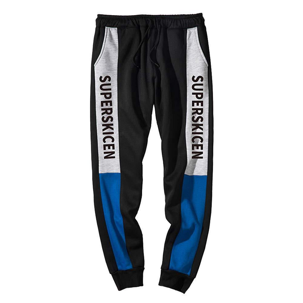 STRIR Hombre Pantalones Largos Moda Casuales Slim Pantalón con Bolsillos Stretch Deportivos Otoño Invierno Pants: Amazon.es: Deportes y aire libre