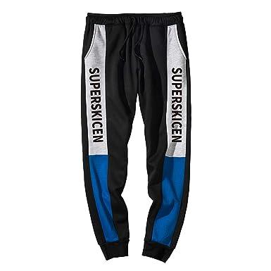 Premium-Auswahl 7cdc5 8eff9 ZIYOU Herren Trainingshose, Outdoor Fitness Sporthose/Männer ...