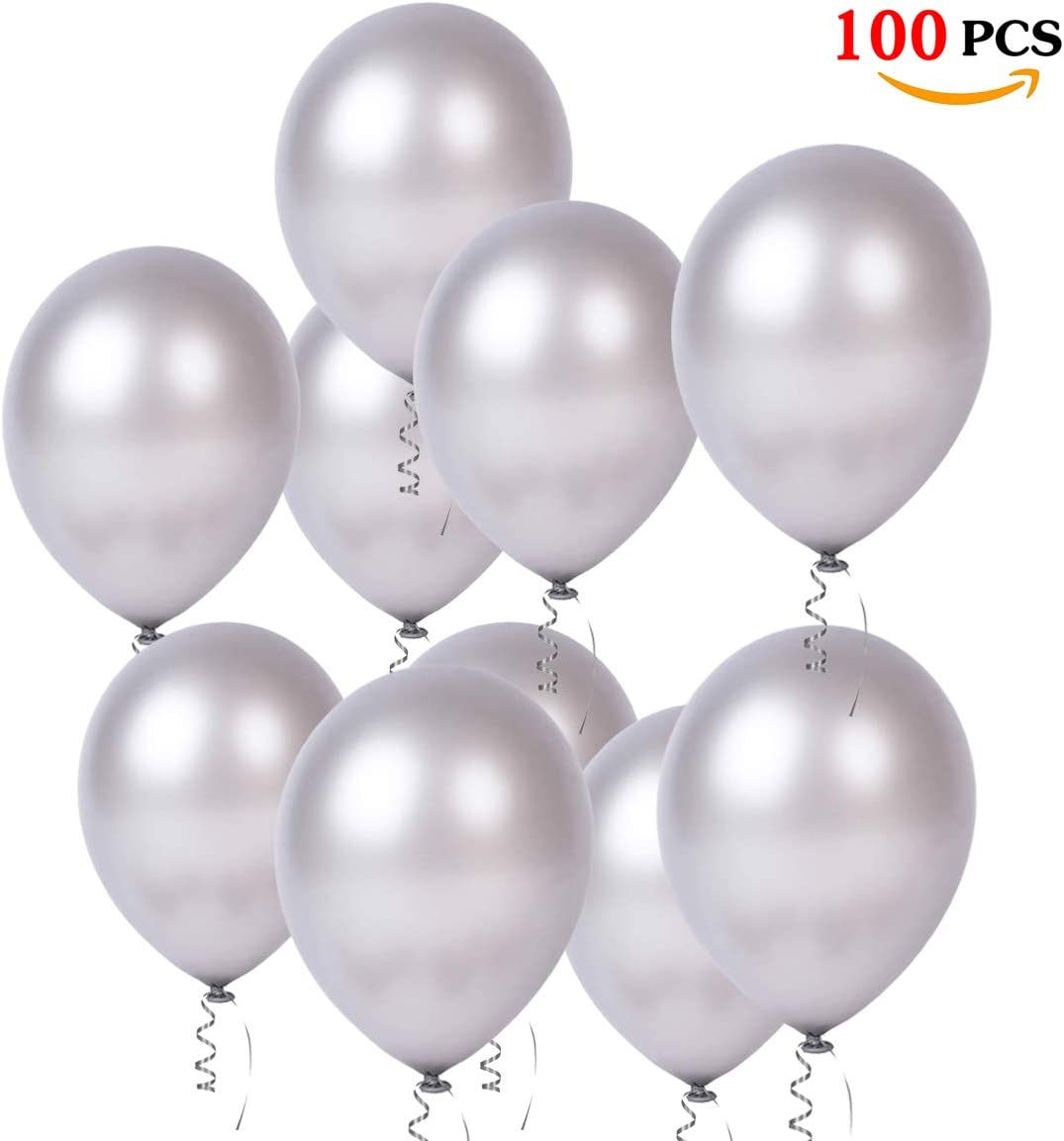 Luftballons Blau,100 St/ück Ballon Blau Latex Helium f/ür Hochzeit Junge 1 Geburtstag Babydusche Taufe Konfirmation Party Deko Blau