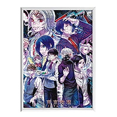 zhentaomaoyi Anime Cartoon Puzzle Jigsaw Puzzle 120 Pieces Wooden Puzzle Children's Educational Toys Puzzles Adult Decompression Toys(Tokyo Ghoul-2): Office Products