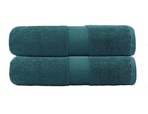 Cotton Craft - 2 Pack Luxuriously Oversized Hotel Bath Sheet