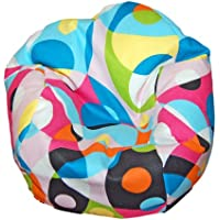 Ahh! Products Kaleidoscope Bean Bag Chair for Dolls