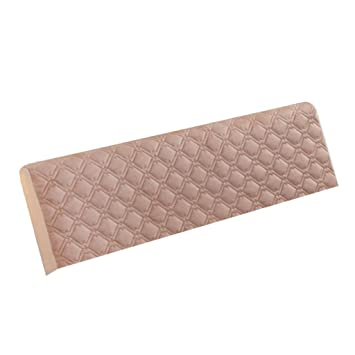 Homyl Staubdichte Bettkopfteil Kopfteil Bezug Husse Cover Abdeckung aus Polyester Beige