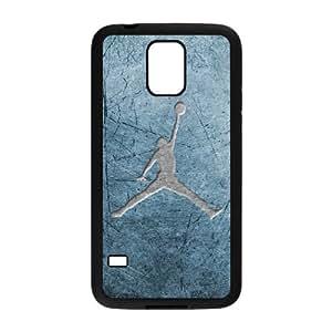 Samsung Galaxy S5 Cell Phone Case Black Jordan logo Svcdo