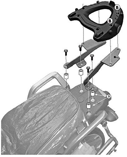 Givi Luggage Racks (GIVI SR371 Monokey Topcase Mounting Kit-Yamaha Super Tenere XT1200Z)