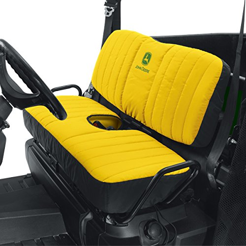 John Deere Mid-Size Bench Seat Cover #LP66449 - Yellow