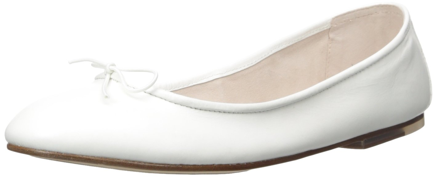 Bloch London Women's Fonteyn Ballet Flat B01CQCBTOU 41 M EU / 11 B(M) US|White