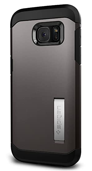 best service ecee2 691c5 Spigen Tough Armor Designed for Samsung Galaxy S7 Edge Case (2016) -  Gunmetal