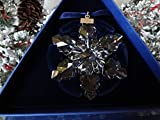 Swarovski 2008 Annual Full-Size Snowflake Christmas Ornament