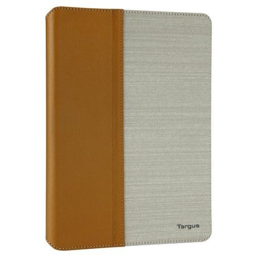 Targus Faux Leather VuStyle Case for iPad Air, Brown