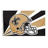 Fremont Die NFL Orleans Saints 3 5 Foot Helmet Flag For Sale