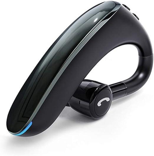 Amazon Com Gjwhens Wireless Headset Bluetooth 5 0 Stereo Hi Fi Sound Ipx4 Waterproof Wireless Earpiece With Mic For Smart Phone Car Driver Trucker Business Man Coldblack Home Kitchen