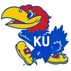 NCAA Kansas Jayhawks Small Window Cling