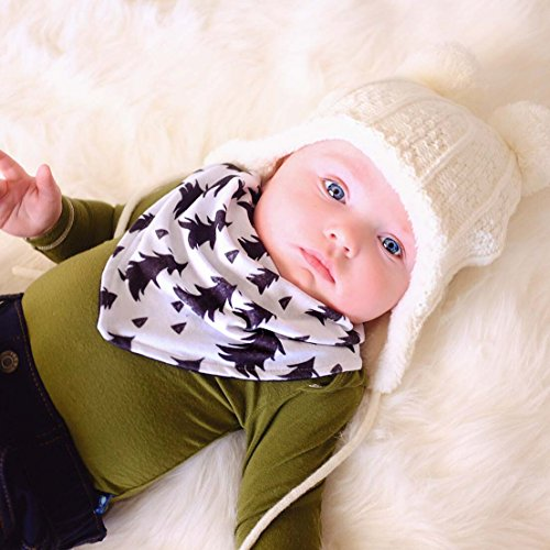 db3e9b2ec5b JAN   JUL Baby Toddler Winter Earflap Beanie Hat (M  6-24 Months ...