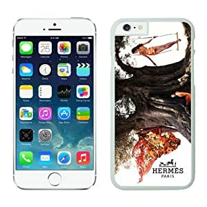 Hermes iPhone 6 Plus Case 3 White 5.5 inches for iPhone 6 Plus