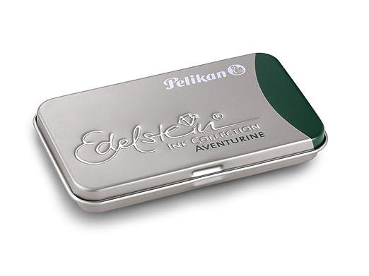 6 opinioni per Pelikan Edelstein Cartridges Aventurine- 6 Cartucce Penna Stilografica, verde