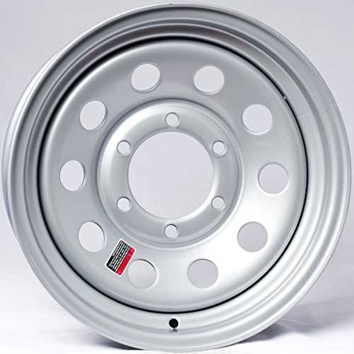 Trailer Wheel Rim 15X6 6 Lug On 5.5 in. Silver Modular 2830 Lb.