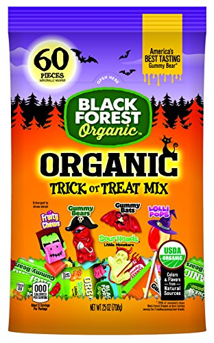 Black Forest Organic Trick or Treat Candy Mix, 24.9 Ounce (Halloween Easy To Make Treats)