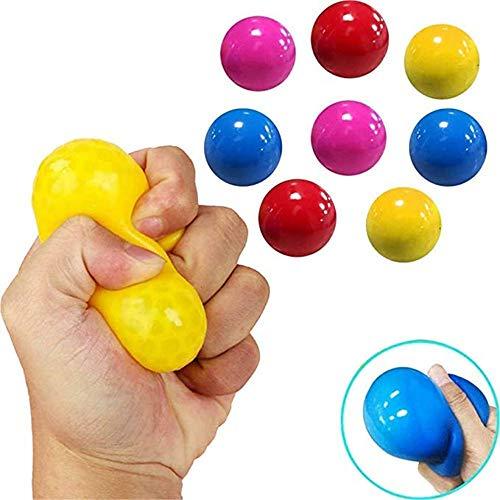 Sticky Globbles Ball Stress Toy,Fluorescent Sticky