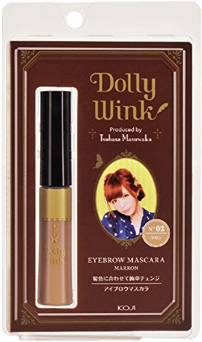 DOLLY WINK Koji Eyebrow Mascara, 02 Chesnut