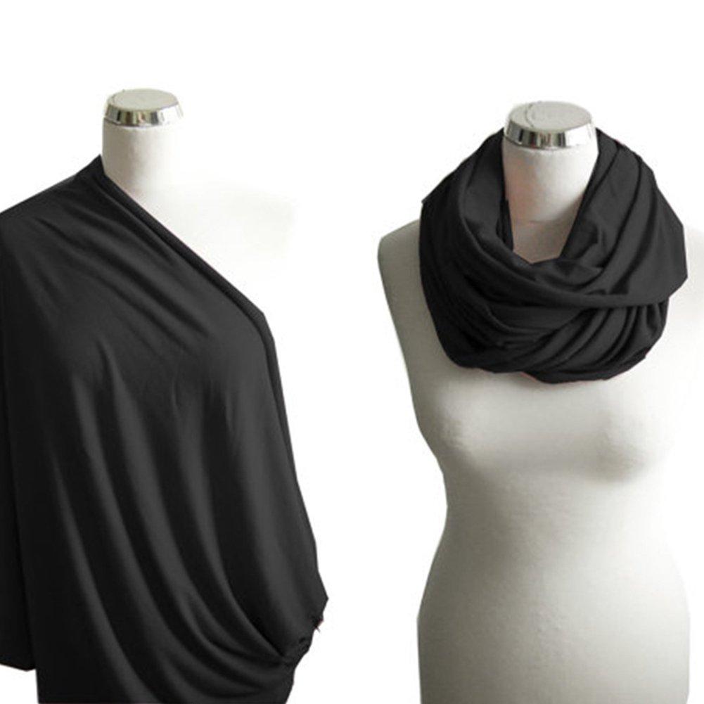 portabeb/és regalos bufanda de lactancia para madres c/ómoda cubierta de lactancia gris claro Ainstsk Cuidado de la lactancia super suave infinito enfermer/ía y lactancia bufanda