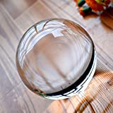 Dawson Clear Acrylic Contact Juggling Ball - 2.75' - 70mm