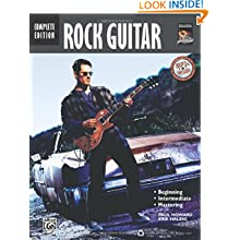 Complete Rock Guitar Method: Complete (Book & CD)