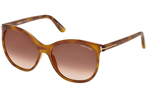 Amazon.com: Tom Ford ft0568 geraldine-02 lentes anteojos de ...